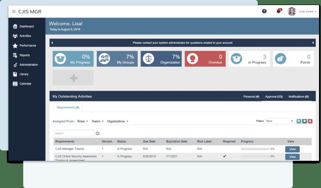 CJIS Vendor Compliance Online
